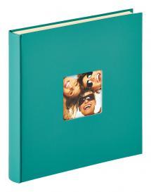 Fun Itsekiinnittyvä Vihreä - 33x34 cm (50 Valkoista sivua / 25 lehteä)
