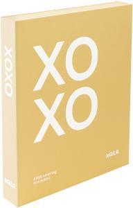 KAILA XOXO Yellow - Coffee Table Photo Album (60 Mustaa sivua / 30 lehteä)
