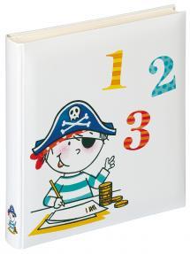 Lasten albumi Pirat Skola - 28x30,5 cm (50 Valkoista sivua / 25 lehteä)