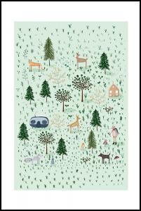 Tiny Forest Juliste