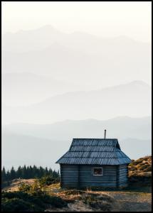 Lonely Cabin Juliste