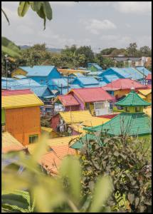 Colorful Village Juliste