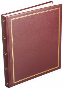 Diamant Albumi Itsekiinnittyvä Punainen- 29x32 cm (40 sivua)