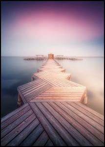 The Lighted Pier Juliste