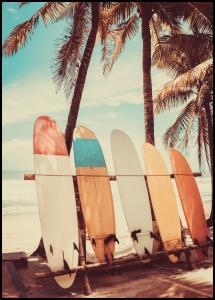 Surfboards Juliste