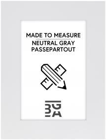 Passepartout Neutral Grey - Mittatilattu