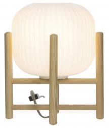 Pöytälamppu Vinda Pieni - Puu/Valkoinen