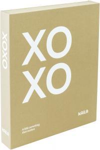KAILA XOXO Vanilla - Coffee Table Photo Album (60 Mustaa sivua / 30 lehteä)