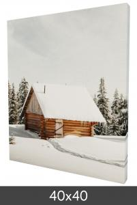 Canvas-taulu 40×40 cm - 40 mm