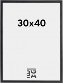 Kehys Galant Akryylilasi Musta 30x40 cm
