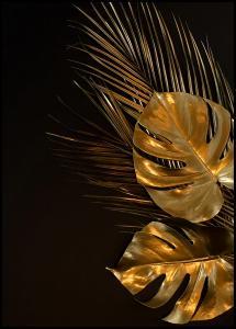 Golden Monstera Juliste