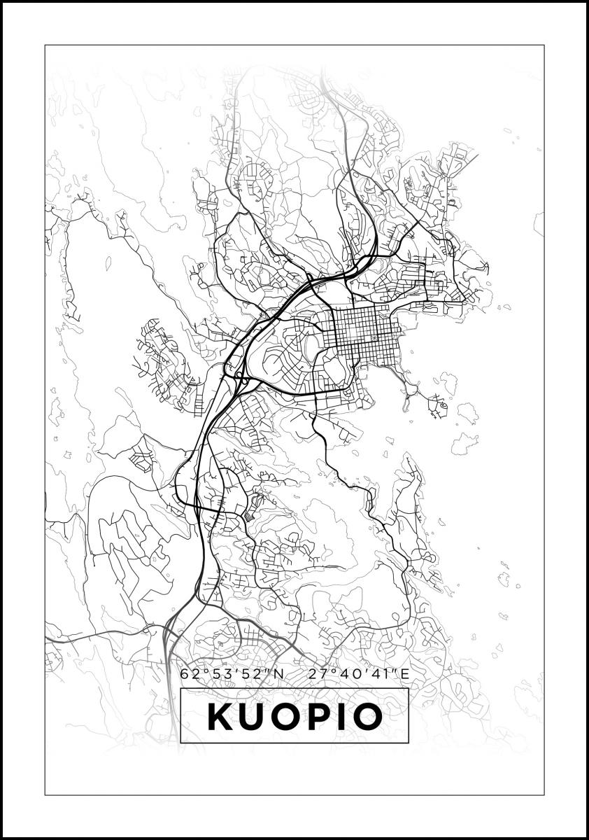 Find And Enjoy Our Kuopio Kartta Thewallmaps Com