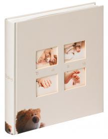 Classic Bear Creme - 28x30,5 cm (60 Valkoista sivua / 30 lehteä)