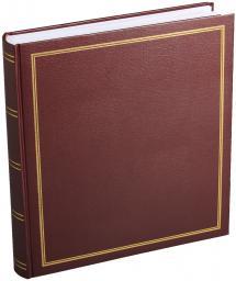 Diamant Albumi Viininpunainen 27,5x32 cm (100 Valkoista sivua / 50 lehteä)