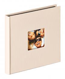 Fun Albumi Hiekka - 18x18 cm (30 Mustaa sivua / 15 lehteä)
