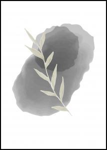Painted Leaf I Juliste