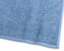 Vieraspyyhe Stripe Frotee - Sininen 30x50 cm