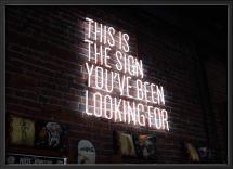 The sign Juliste