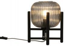 Pöytälamppu Vinda Pieni - Musta/Savu