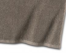 Vieraspyyhe Stripe Frotee - Ruskea 30x50 cm