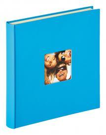 Fun Itsekiinnittyvä Merensininen - 33x34 cm (50 Valkoista sivua / 25 lehteä)