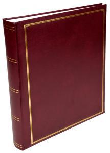 Exclusive Line Maxi Viininpunainen 30x33 cm (100 Valkoista sivua / 50 lehteä)