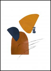 Abstract Shapes I Juliste