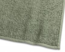 Vieraspyyhe Stripe Frotee - Vihreä 30x50 cm