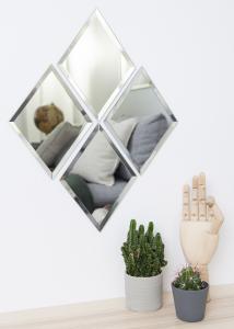 Peili House Doctor Diamond Kyllä 16x22 cm