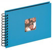 Fun Kierrealbumi Merensininen - 23x17 cm (40 Mustaa sivua / 20 lehteä)