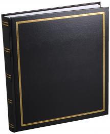 Diamant Albumi Musta 27,5x32 cm (100 Valkoista sivua / 50 lehteä)
