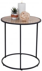 Sivupöytä Bergamo 40x40 cm - Musta