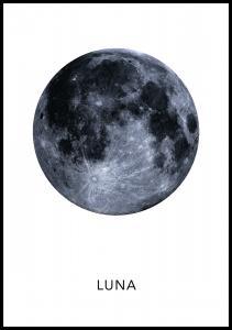 Luna Poster Juliste
