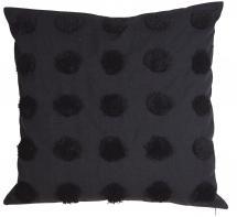 Dot Tyynynpäällinen Musta 50x50 cm