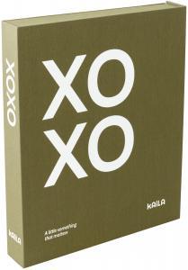 KAILA XOXO Olive - Coffee Table Photo Album (60 Mustaa sivua / 30 lehteä)