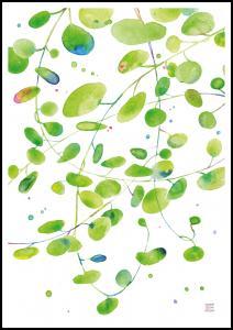 Green Leaves - Green isle studio Juliste