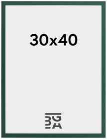 Kehys E-Line Akryylilasi Vihreä 30x40 cm