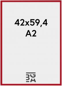 Kehys New Lifestyle Röd 42x59,4 cm (A2)