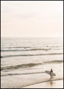 Surfers Beach Juliste