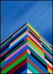 Color Pyramid Juliste