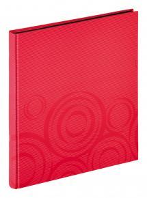Orbit Punainen - 30x33 cm (40 Mustaa sivua / 20 lehteä)
