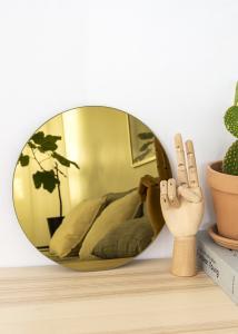 KAILA Pyöreä Peili Gold 30 cm Ø