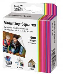 3L Mounting Squares 500 kpl