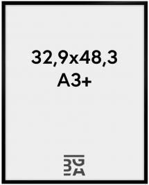 New Lifestyle Akryylilasi Musta 32,9x48,3 cm (A3+)