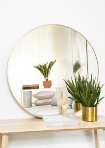 KAILA Round Mirror - Edge Gold 100 cm Ø