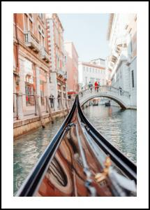 Gondola in Venice Juliste