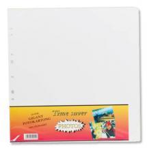Albumilehti Timesaver Gigant - 10 Valkoista arkkia