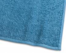 Kylpypyyhe Stripe Frotee - Turkoosi 65x130 cm