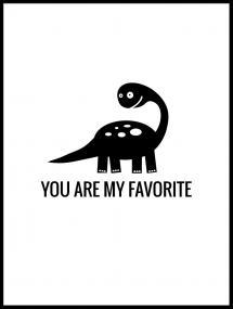 Dino Favorite Juliste