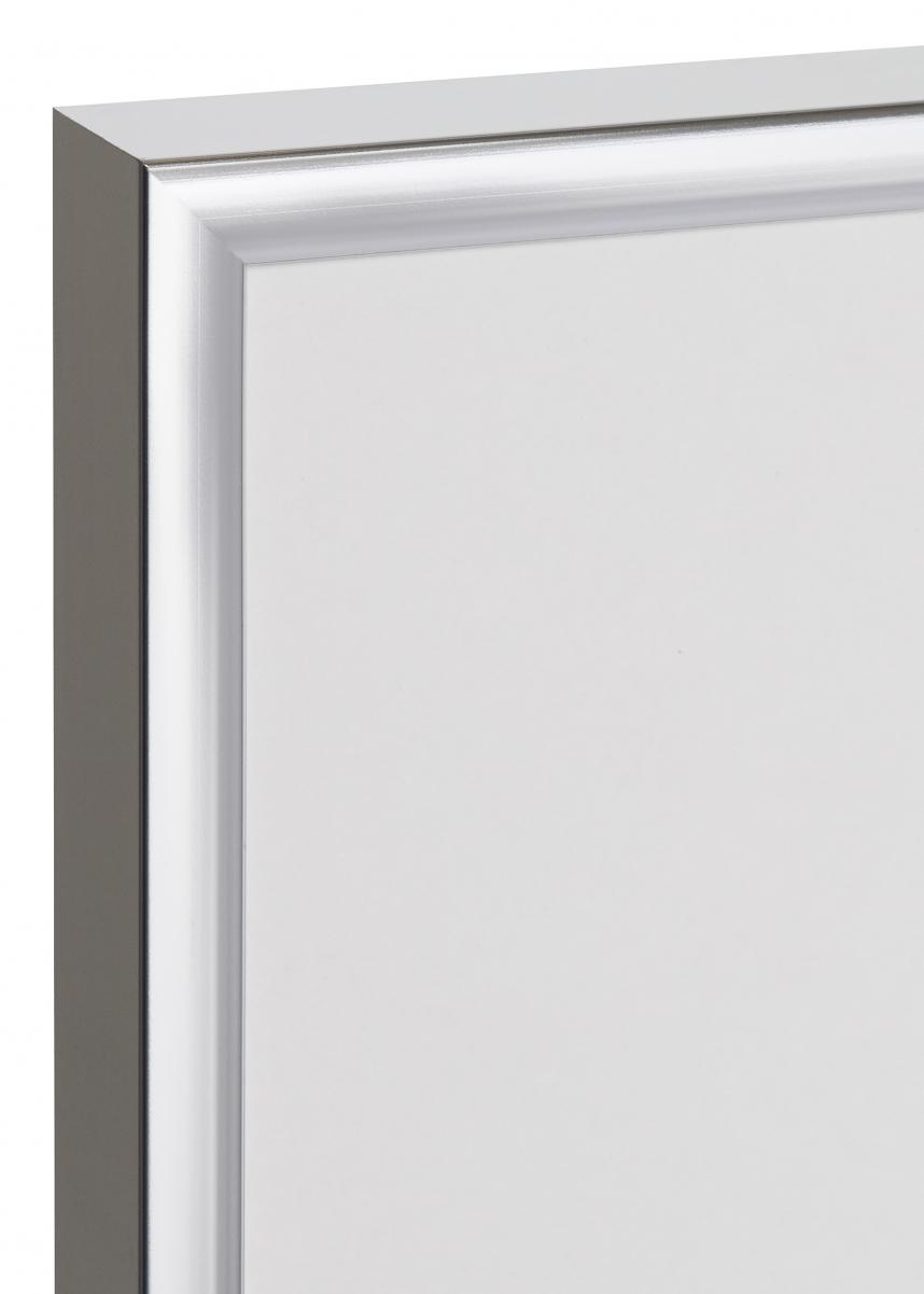 Poster Frame Aluminum Silver 50x70 cm